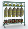 Metro Turnout Gear Rack