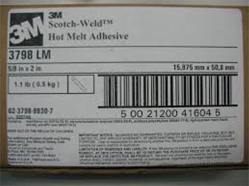 3M 3798LM Removable Gummy Glue - Canada - Toll Free: 1-877