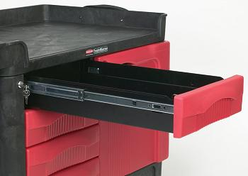 Rubbermaid Trademaster Cart With 4 Drawer Amp Cabinet 24 Quot X