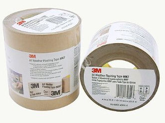 3m All Weather Flashing Tape 8067 Tan 6 In X 75 Ft Slit Liner Canada