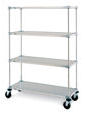 Metro Solid Mobile Shelving Units