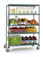 Metro Super Erecta Pro Stem Caster Carts