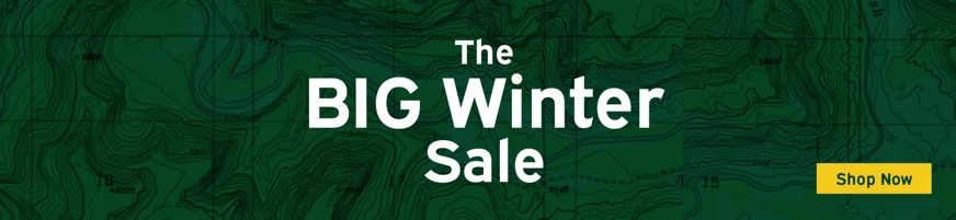 The BighWinter Sale on now! Discounts up to 40% off